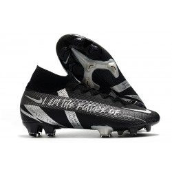 Top Nike Mercurial Superfly 7 Elite DF FG Future Black Silver