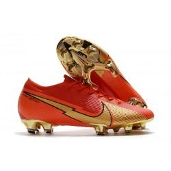 Nike Mercurial Vapor 13 Elite FG ACC Ronaldo CR100 Red Gold