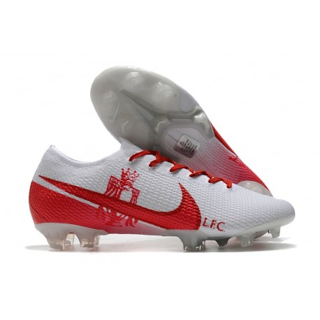 Nike Mercurial Vapor 13 Elite FG ACC White Red