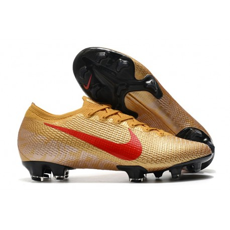 Nike Mercurial Vapor 13 Elite FG ACC Gold Red