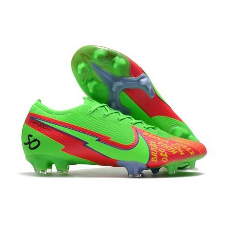 Nike Mercurial Vapor 13 Elite FG ACC Green Red