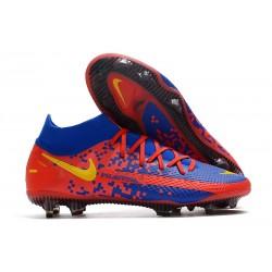 Nike Phantom GT Elite Dynamic Fit FG Boots Crimson Blue Yellow